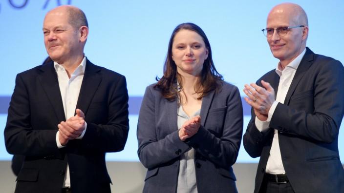 Außerordentlicher Landesparteitag SPD Hamburg