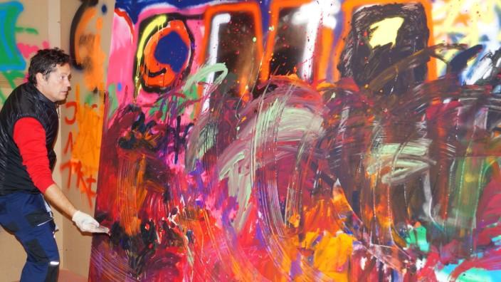 München malt - Explosion der Farben