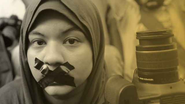 Egyptian journalists protest in Cairo; Egyptian journalists protest in Cairo