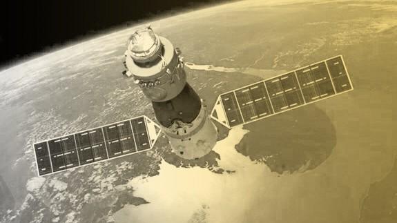 Die chinesische Raumstation Tiangong 1 stürzt in den kommenden Tagen auf die Erde.