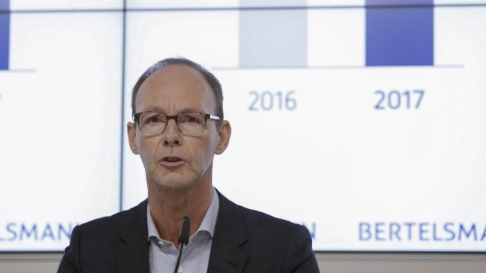 27 03 2018 Berlin Deutschland Bilanz Pressekonferenz der Bertelsmann Group 2018 Foto Thomas Ra