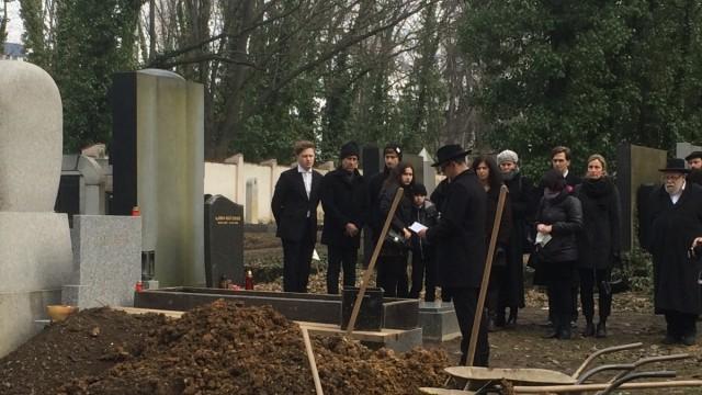 Beerdigung von Dagmar Lieblová