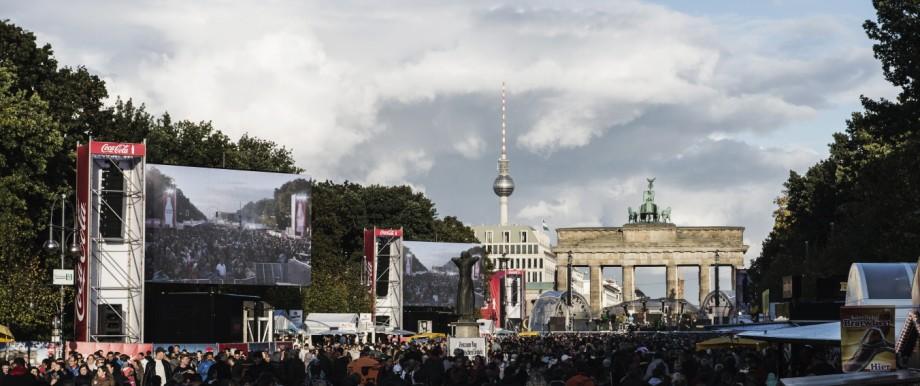 Einheitsfest in Berlin