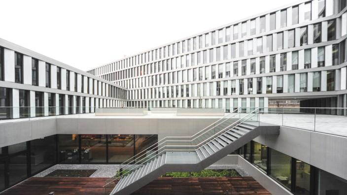 Neubau der Allianz in München, 2016