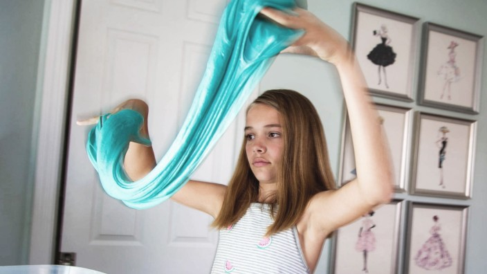 May 2 2017 Jupiter Florida U S Nora Maciak 12 is a sixth grader is in the slime business