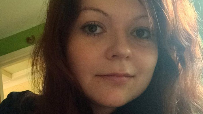 This is an undated photograph of the daughter of former Russian Spy Sergei Skripal, Yulia Skripal taken from Yulia Skripal's Facebook account in London