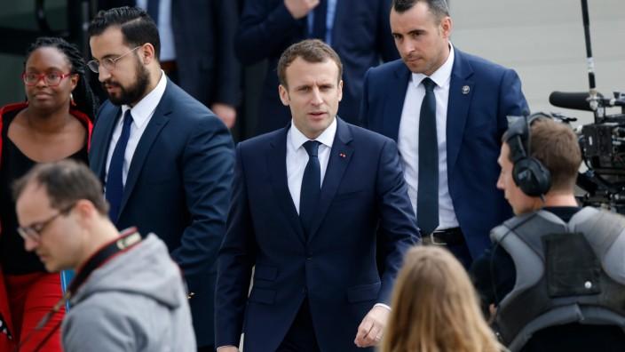 Emmanuel Macron: So groß die Begeisterung ist, so groß ist nun die Sorge: Streiken die Franzosen ihrem Präsidenten seine Visionen kaputt?