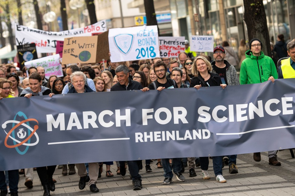 'March for Science' in Köln