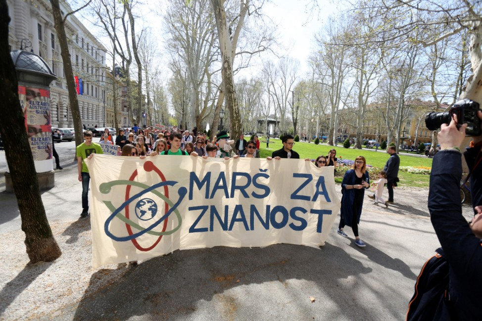 'March for Science' in Zagreb