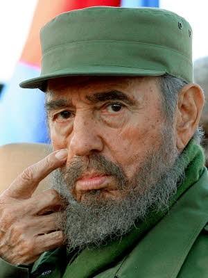 Fidel Castro; AFP