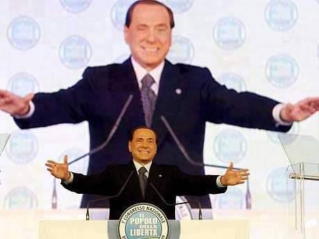 Berlusconi; dpa