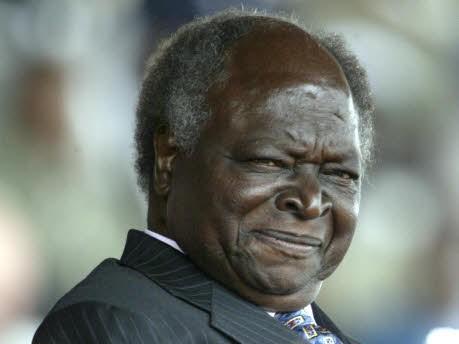 Mwai Kibaki; AP