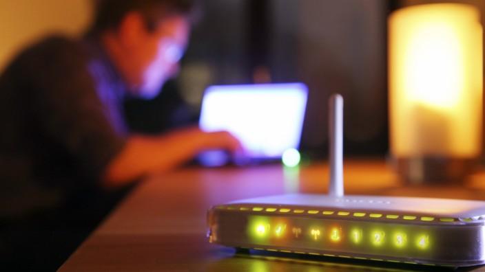 IT-Sicherheit: Router stehen auch in jedem an das Internet angeschlossenen Privathaushalt.