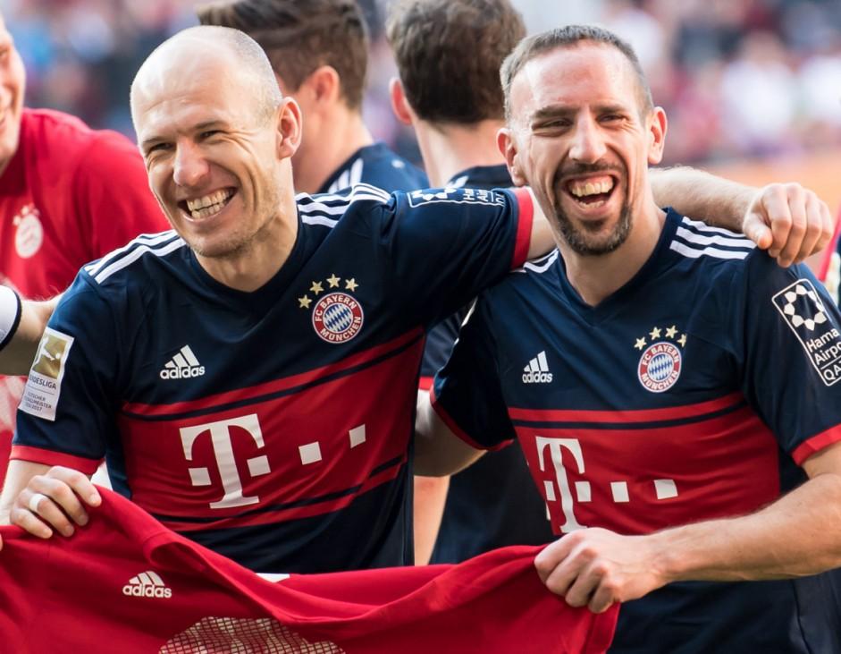 Ribéry und Robben