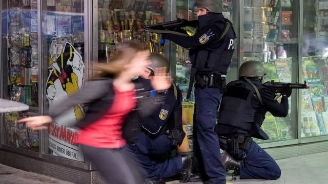 Anti-Terror-Übung in München: Groß-Einsatz am Hauptbahnhof