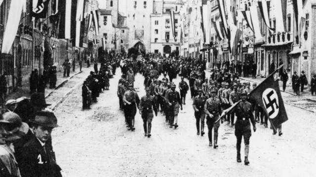 SA-Aufmarsch in Vilsbiburg, 1933