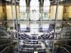 Blick ins Plenum des Reichstags in Berlin