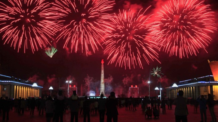 106. Geburtstag von Kim Il Sung in Nordkorea