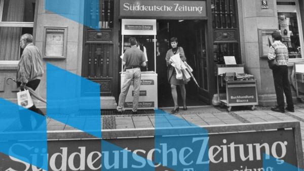Eingang zum VerlagsgebâÄ°ude der S¸ddeutschen Zeitung
