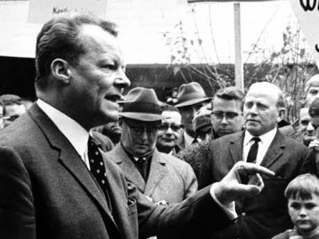 Willy Brandt, dpa