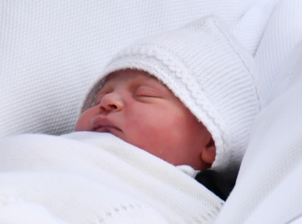 Kleiner britischer Prinz heißt Louis Arthur Charles