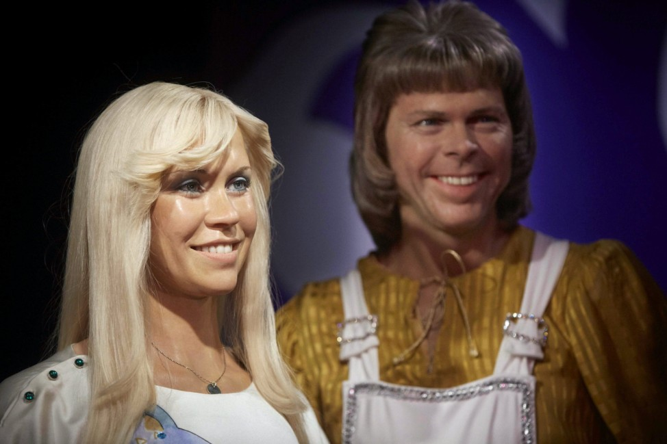 ABBA wax figures unveiled