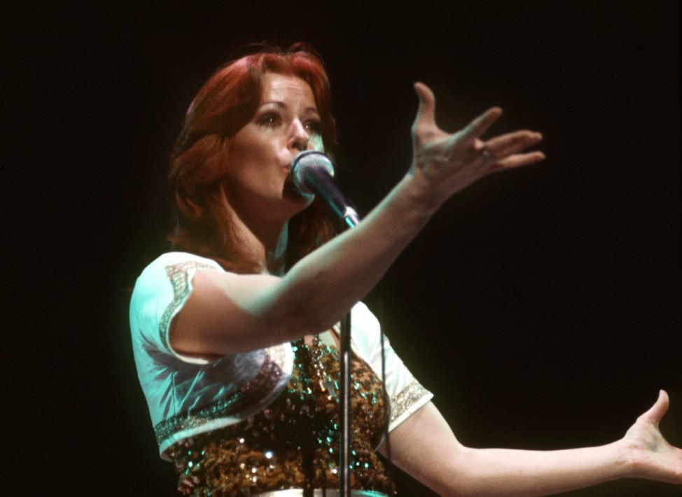 Abba-Sängerin Frida wird 70.