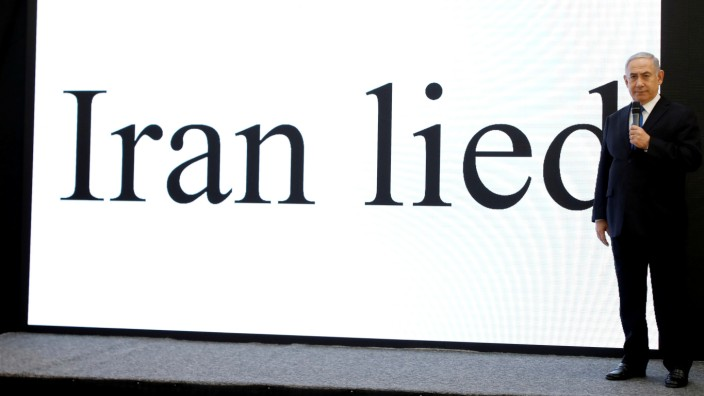 Netanjahu Israel Iran Atomwaffen Programm Abkommen