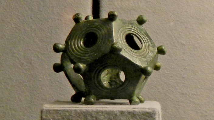 Römische Geschichte: So hübsch der Gegenstand aussieht, so rätselhaft ist sein Nutzen.