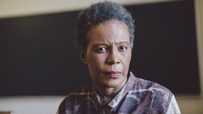 Claudia Rankine, a poet whose 'Citizen: An American Lyric' explores race and violence in the U.S., in Claremont, Calif.