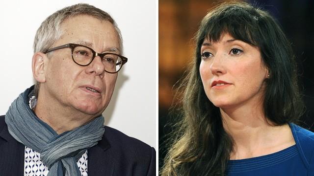 Sexuelle Übergriffe beim WDR: Gebhard Henke, links, ist als Fernsehfilmchef des Westdeutschen Rundfunks seit vergangenem Sonntag freigestellt. Charlotte Roche und fünf weitere Frauen werfen ihm sexuelle Belästigungen vor.