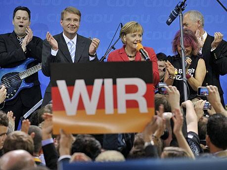 Angela Merkel CDU ddp