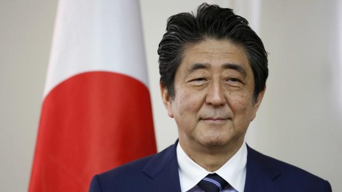 Japans Ministerpräsident zu Besuch in Jerusalem