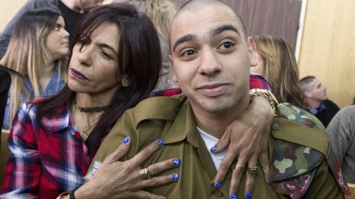 Israelischer Soldat aus Haft entlassen