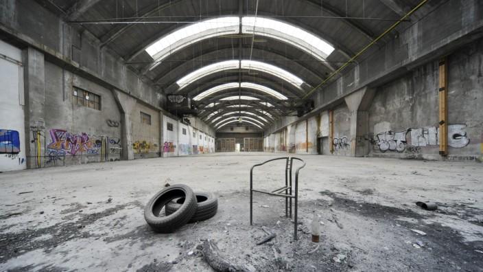 Tonnenhalle in Mücnhen, 2012