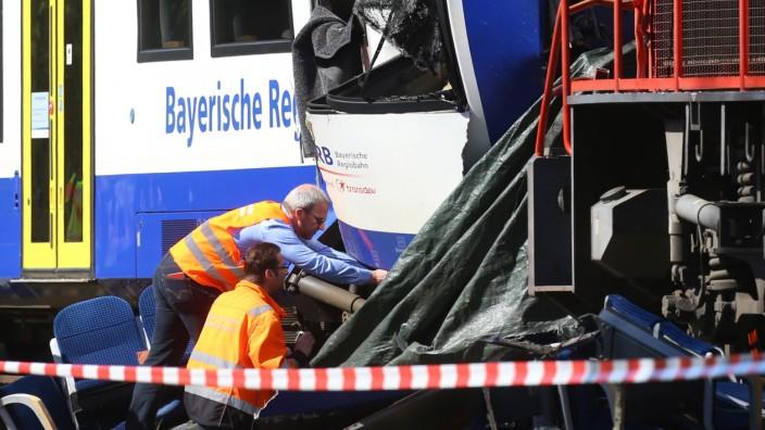 Zugunfall in Bayern