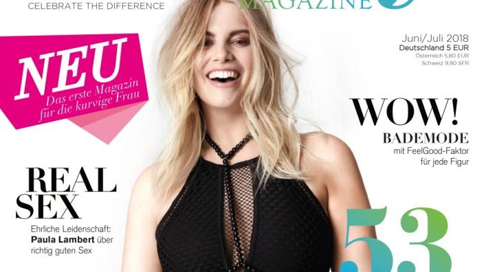 """""""The Curvy Magazine"""": The Curvy Magazine startet mit 110 000 Exemplaren für je 5 Euro."""