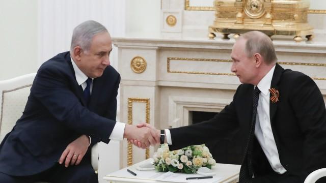 Putin empfängt Netanjahu