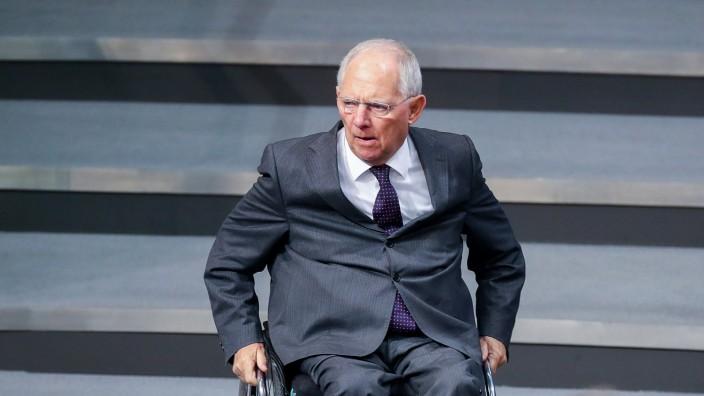 Schäuble Bundestag Wahlrecht Änderung