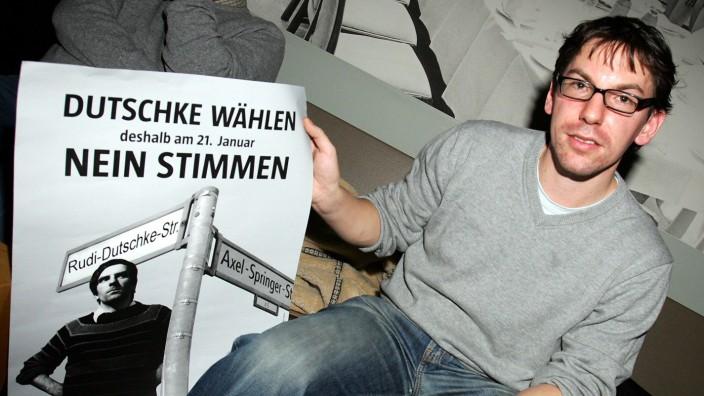 Bürgerabstimmung über Namensänderung der Kochstraße in Rudi-Dutschke-Straße