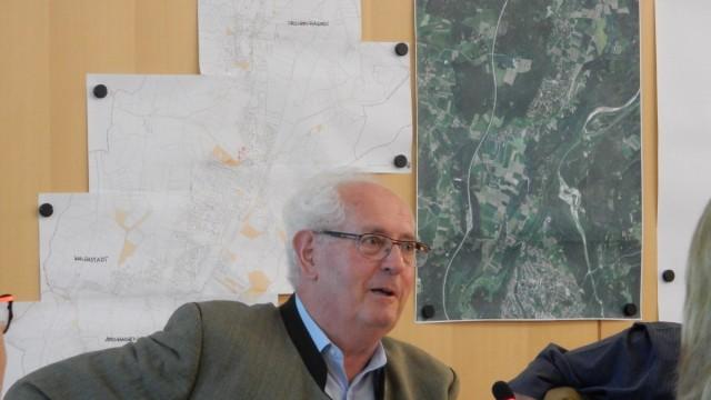 Johann Abfalter im Ickinger Gemeinderat