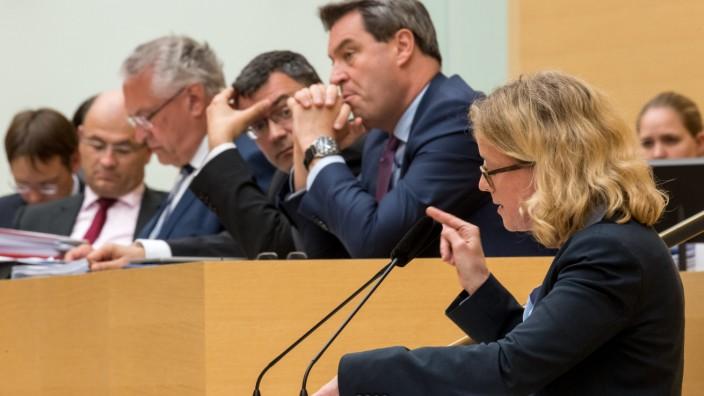 Polizeiaufgabengesetz Landtag Bayern Verabschiedung