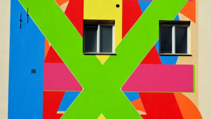 Fassade eines Wohnhauses in Berlin