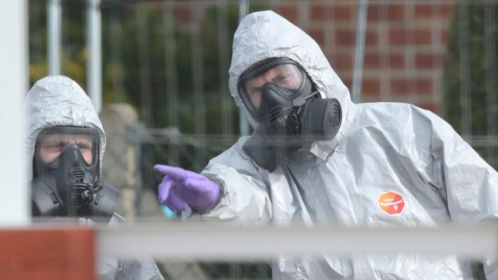 Russischer Ex-Spion vergiftet