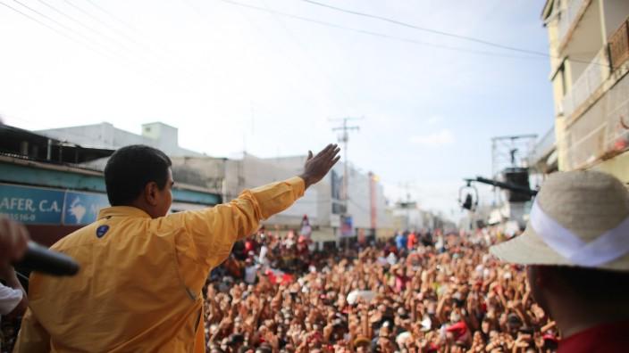 Vor der Wahl in Venezuela