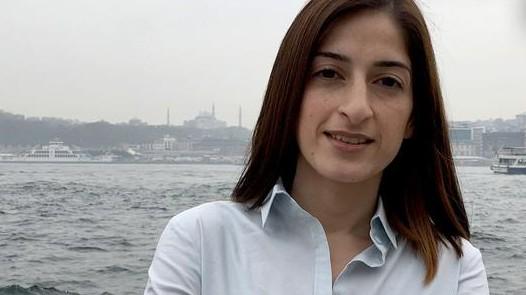 Die deutsche-türkische Journalistin Meşale Tolu in Istanbul - die gebürtige Ulmerin wurde Ende 2017 nach einem halben Jahr aus türkischer Haft entlassen.