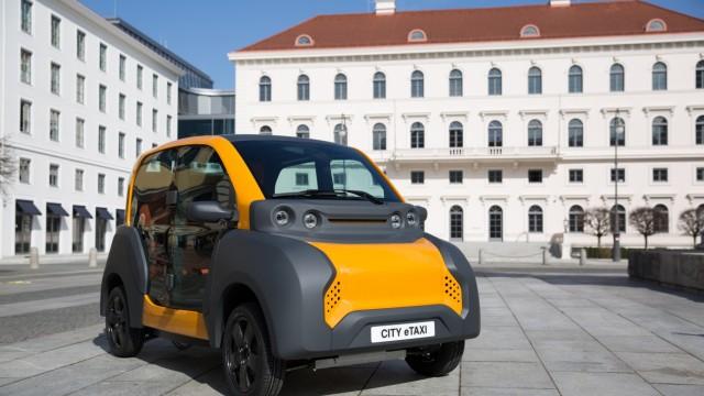 Mobilität in der Stadt: Das ACM-Auto soll helfen, den Verkehr in der Stadt durch eine optimale Auslastung des Wagens zu reduzieren.
