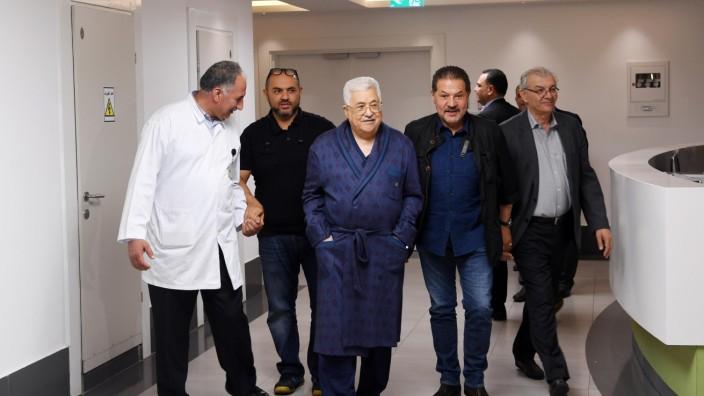 Abbas im Krankenhaus