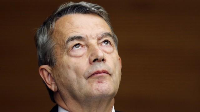 DFB und Esecon: Wolfgang Niersbach, DFB-Präsident bis 2015.