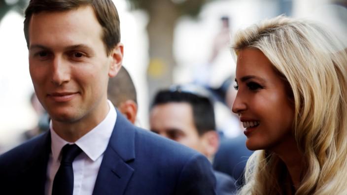 Jared Kushner und Ivanka Trump 2018 im Rahmen der Eröffnung der US-Botschaft in Jerusalem.